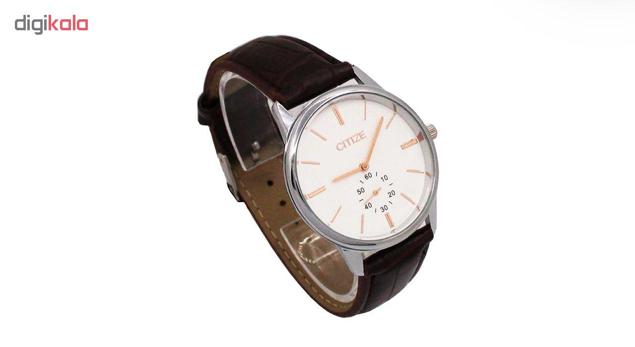خرید ساعت مچی عقربه ای مردانه سیتیز کد MWMU-0166