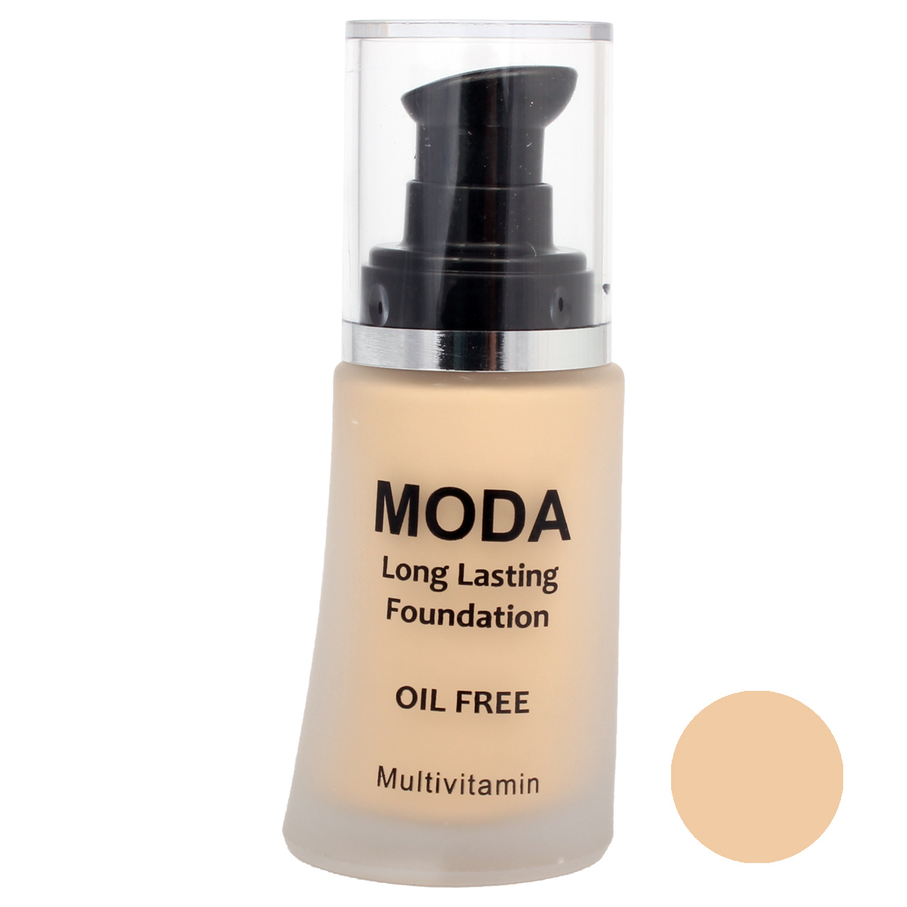 کرم پودر مودا مدل LONG LASTING  OIL FREE شماره 1