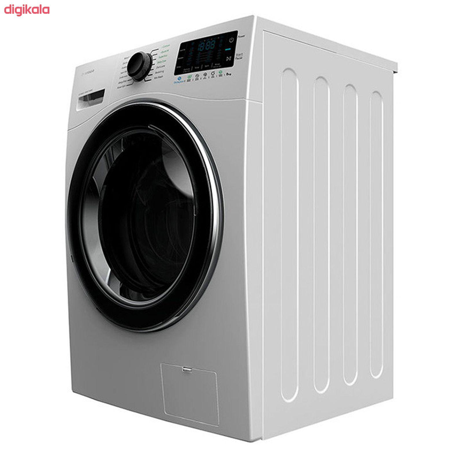 ماشین لباسشویی اسنوا مدل SWM-84516 ظرفیت 8 کیلوگرم main 1 2