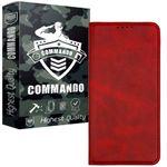 کیف کلاسوری کماندو مدل Q21 مناسب برای گوشی موبایل سامسونگ Galaxy A12