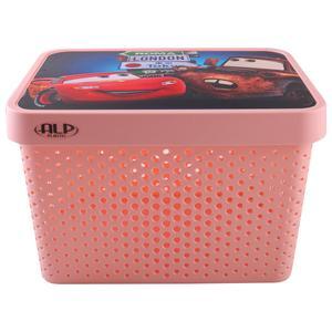 جعبه اسباب بازی کودک آلپ طرح ماشینها کد 01