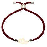 دستبند زنانه کرابو طرح پروانه مدل kb22-51