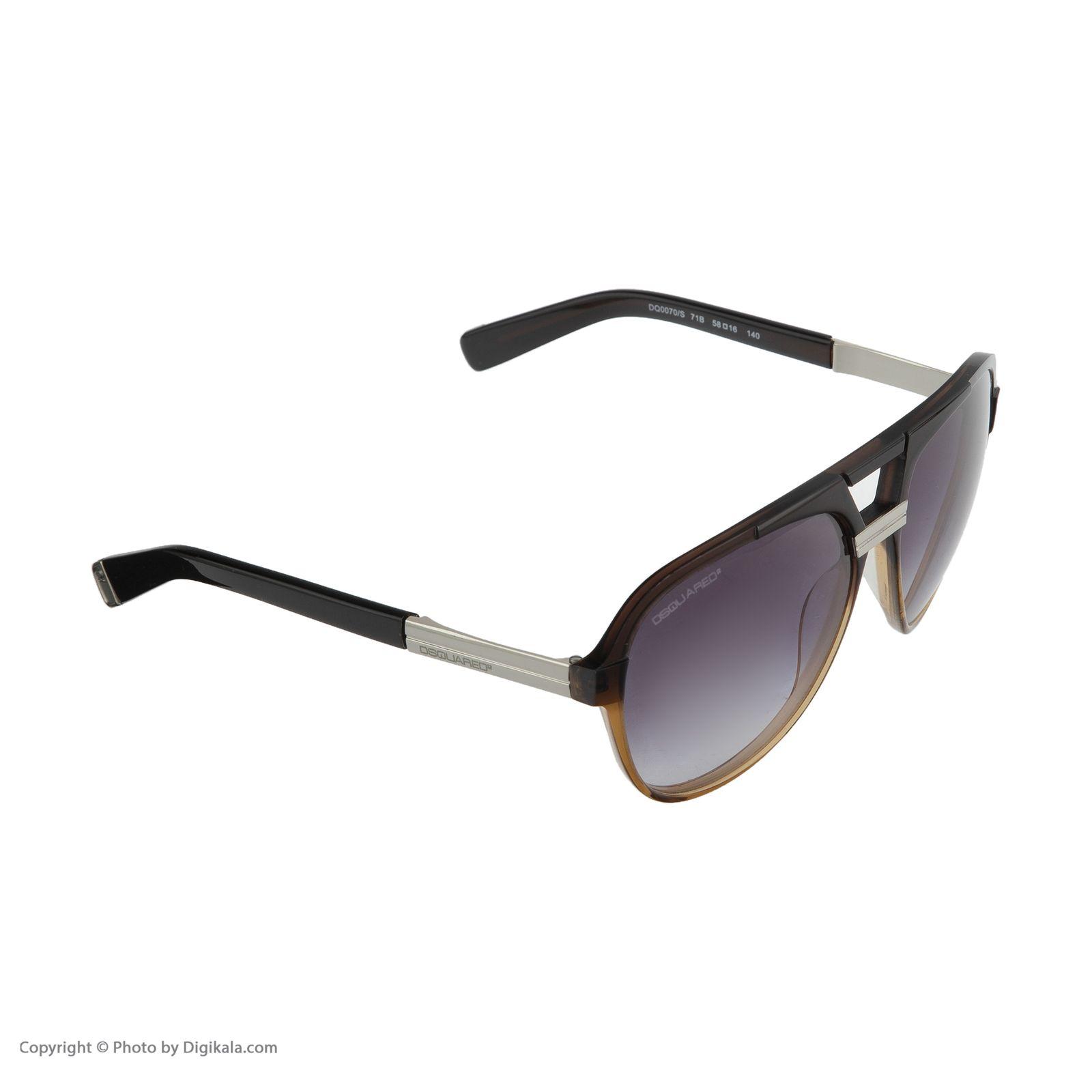عینک آفتابی  دیسکوارد مدل 0070 -  - 6