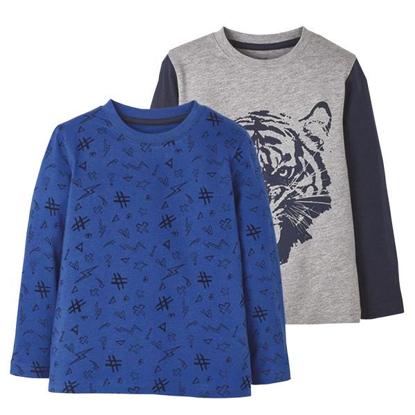 تی شرت پسرانه لوپیلو کد lusb107 مجموعه 2 عددی