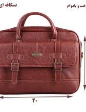 کیف چرم ما مدل SM-2 مجموعه 2 عددی -  - 5