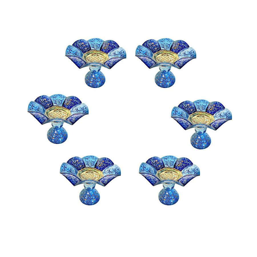 ظرف میناکاری مدل k12 بسته ۶ عددی