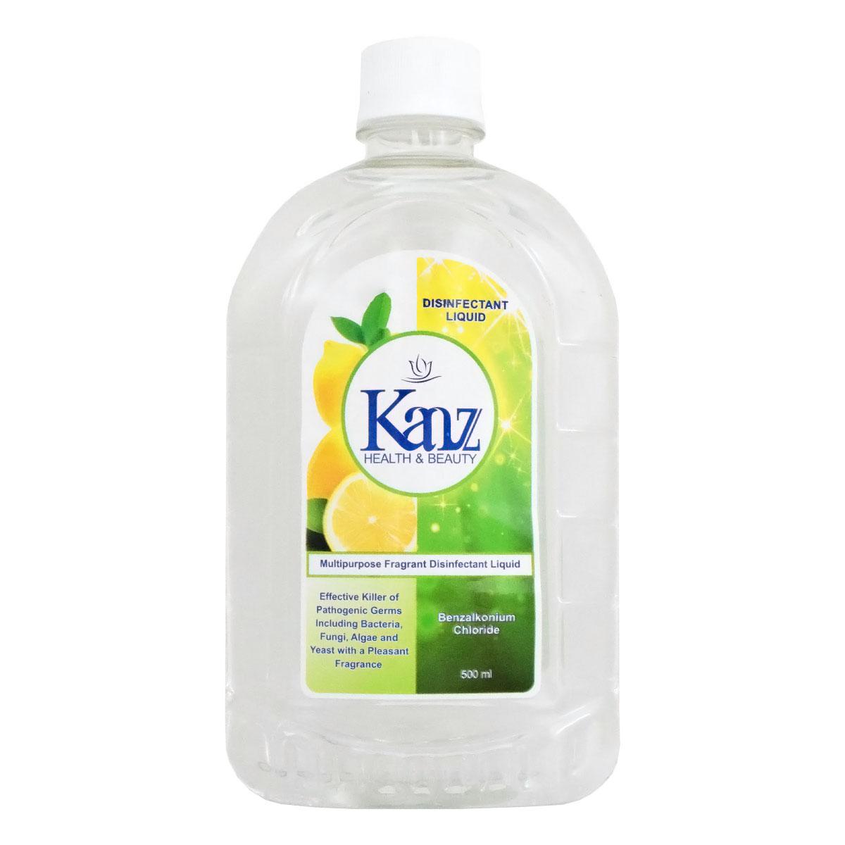 خرید                     مایع ضدعفونی کننده سطوح کنز مدل Lemon حجم 500 میلی لیتر