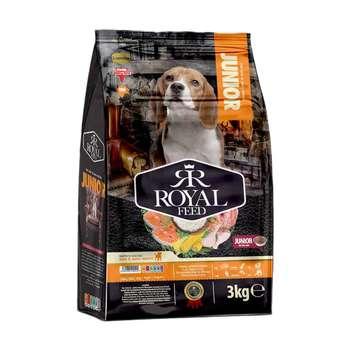 غذای خشک سگ رویال فید مدل Junior وزن 3 کیلوگرم