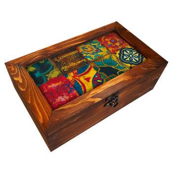 جعبه هدیه چوبی مدل  BG31