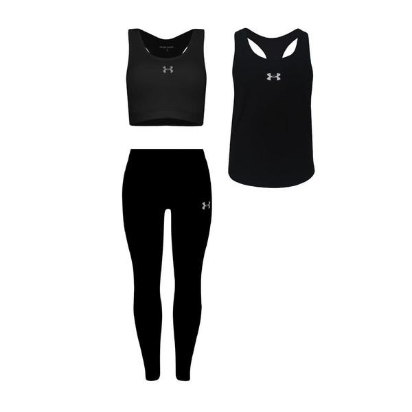 ست 3 تکه لباس ورزشی زنانه مدل k1-2801