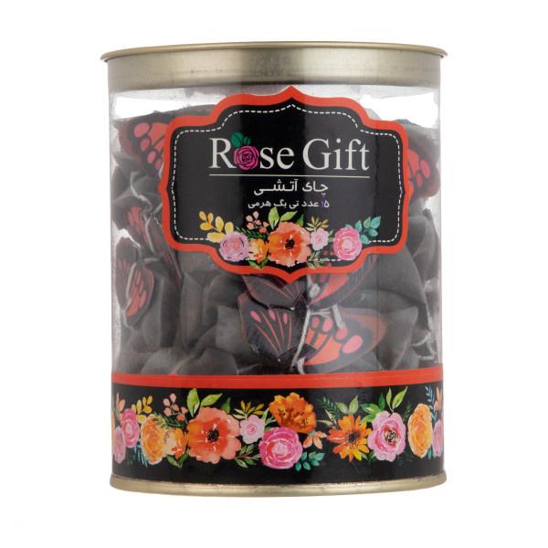چای سیاه کیسه ای رز گیفت - بسته 15 عددی