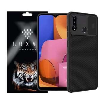 کاور لوکسار مدل LensPro-222 مناسب برای گوشی موبایل سامسونگ Galaxy A20s