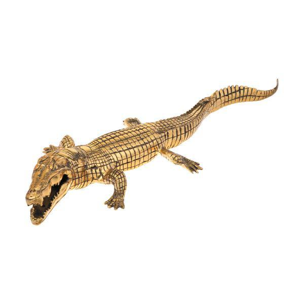 دکوری برنجی مدل تمساح کد 51