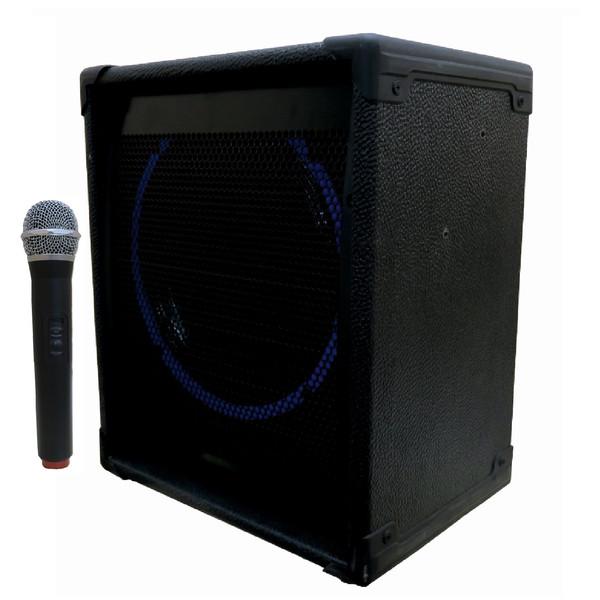 اکو پرتابل تکنوسوند مدل  TS100W به همراه میکروفن بی سیم