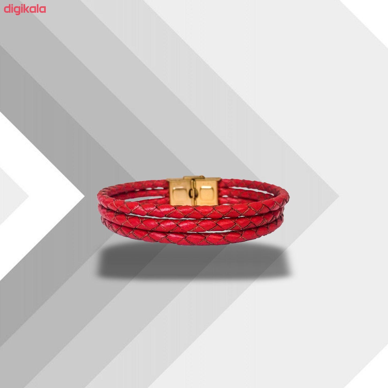 دستبند چرم وارک مدل دایان کد rb313 main 1 5