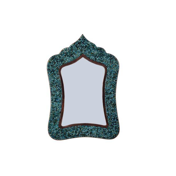 آینه فیروزه کوبی آقاجانی کد F030