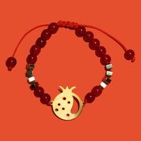 دستبند طلا زنانه,دستبند طلا زنانه آمانژ