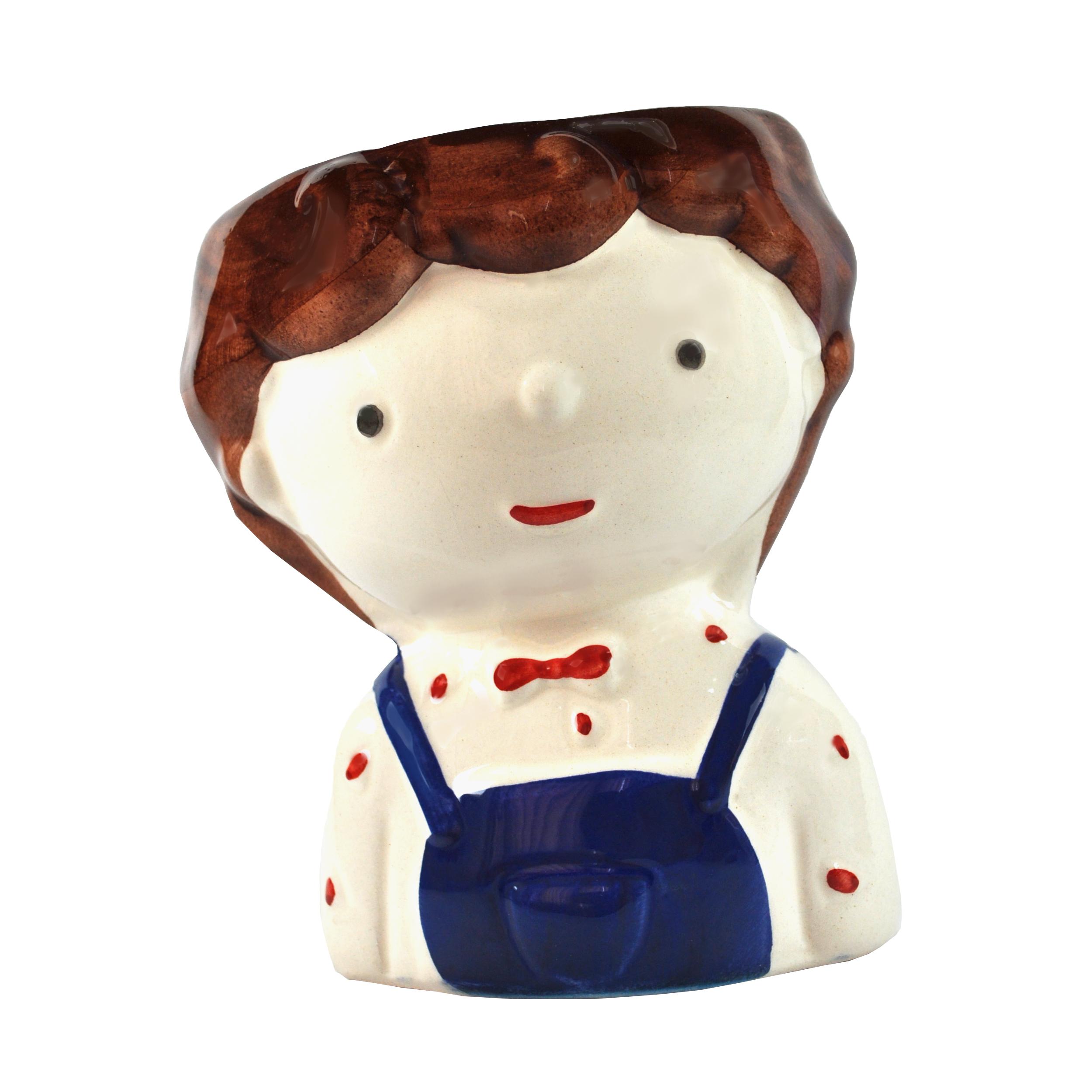 قیمت خرید گلدان مدل عروسکی طرح پسر کد 1106006 اورجینال