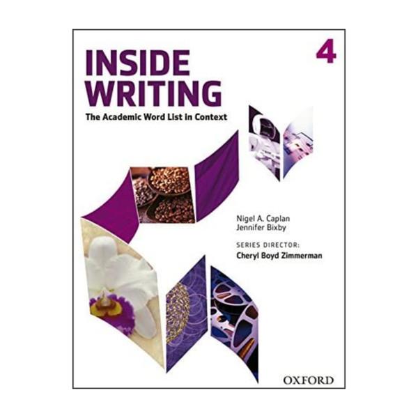 کتاب Inside Writing 4 اثر Nigel A. Caplan and Jennifer Bixby انتشارات آکسفورد