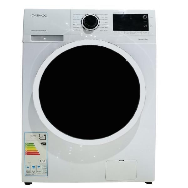 ماشین لباسشویی دوو مدل DWK-Pro82TT ظرفیت 8 کیلوگرم