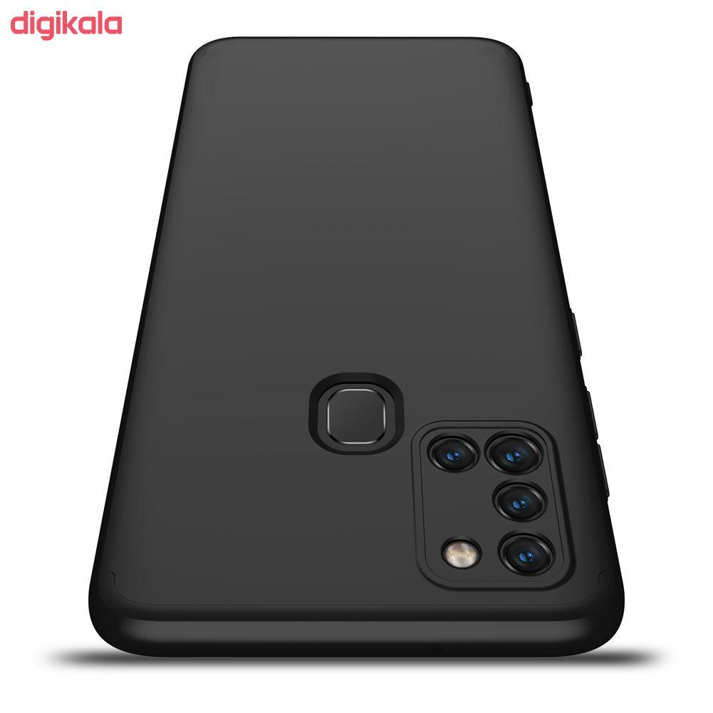 کاور 360 درجه جی کی کی مدل GK-A21S-21S مناسب برای گوشی موبایل سامسونگ GALAXY A21S main 1 18