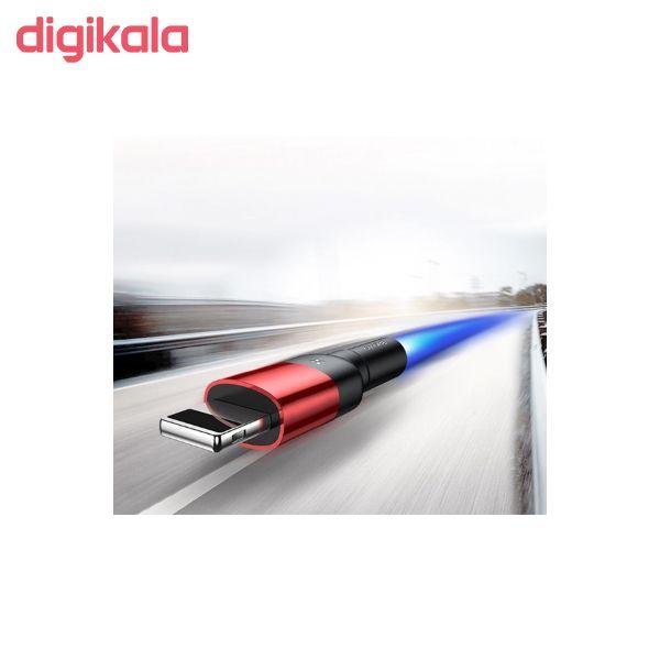 کابل تبدیل USB به لایتنینگ باسئوس مدل CALKLF-HG1 Cafule Special Edition طول 2 متر main 1 5