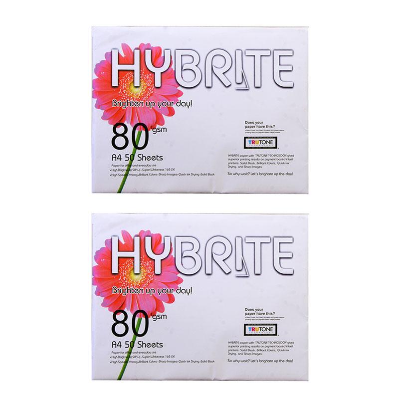 كاغذ A4 هايبرايت كد HP50 بسته ٥٠ عددي