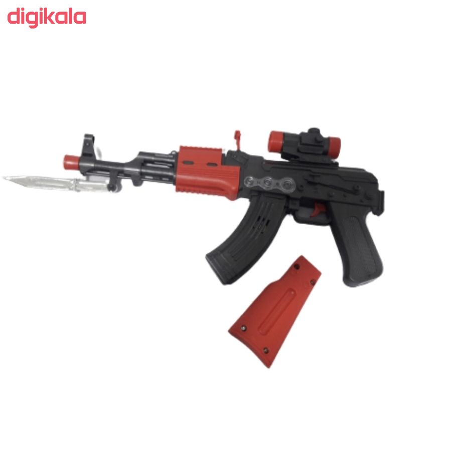 تفنگ بازی مدل مسلسل دوربین دار کد BKH18 main 1 1