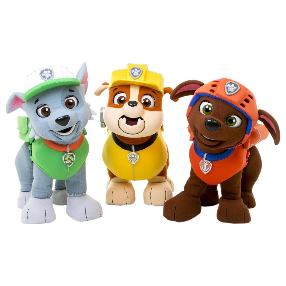 استیکر فراگراف FG طرح شخصیت های سگ های نگهبان کد paw patrol 005