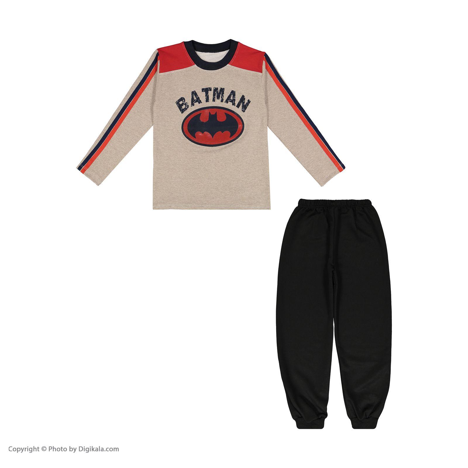 ست تی شرت و شلوار پسرانه سیدونا مدل KSI6003-031 -  - 2