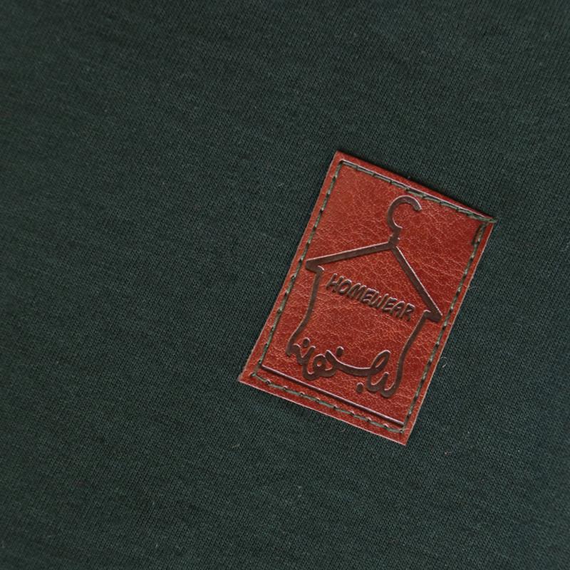 ست تی شرت و شلوار مردانه لباس خونه کد 990310 رنگ سبز