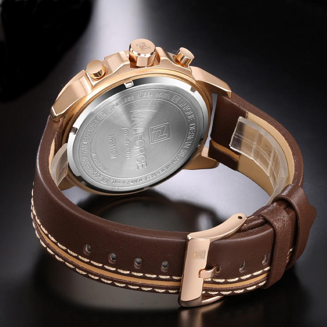 ساعت مچی عقربهای مردانه نیوی فورس مدل nf9110m