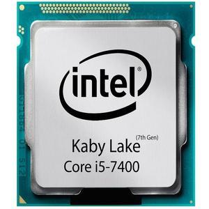 پردازنده مرکزی اینتل سری Kaby Lake مدل Core i5-7400 تری