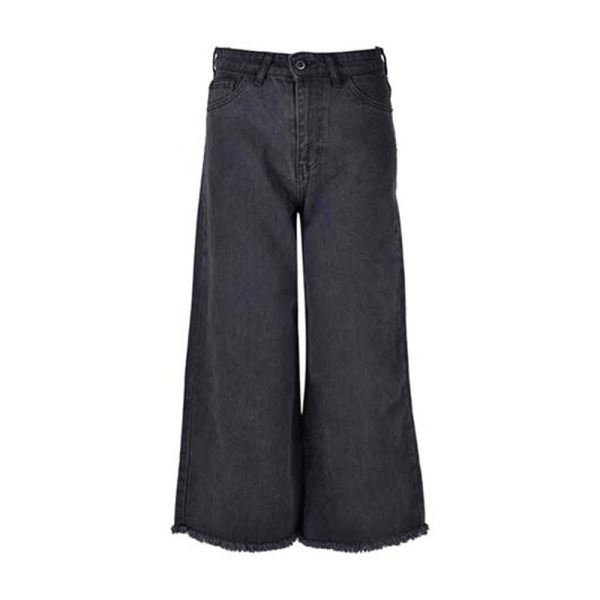 شلوار جین زنانه بادی اسپینر مدل 2556 کد 1 رنگ ذغالی