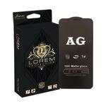 محافظ صفحه نمایش مات لورم مدل AGMATT001 مناسب برای گوشی موبایل اپل Iphone X