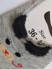 جوراب زنانه پی.تی طرح گربه کد J018 -  - 2