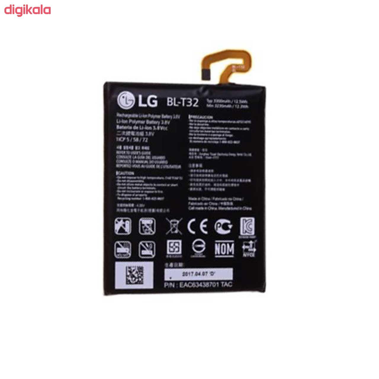 باتری موبایل مدل BL-T32 ظرفیت 3300 میلی آمپر ساعت مناسب برای گوشی موبایل ال جی G6  main 1 1