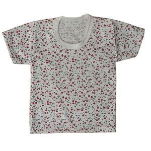 تی شرت آستین کوتاه نوزادی مدل گلریز کد S-125