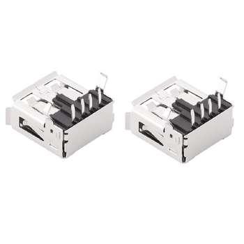 کانکتور USB مادگی مدل DS1095 بسته دو عددی