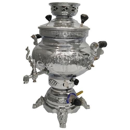 سماور گازی پژمان کد 20105 گنجایش 6 لیتر