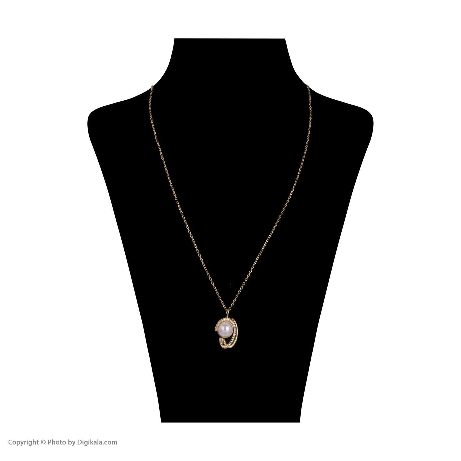 گردنبند طلا 18 عیار زنانه مایا ماهک مدل ZMM1006 -  - 3