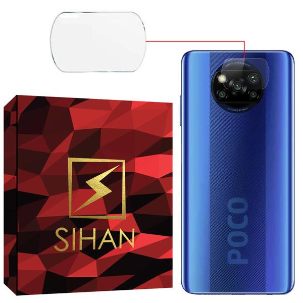 محافظ لنز دوربین سیحان مدل GLP مناسب برای گوشی موبایل شیائومی POCO X3