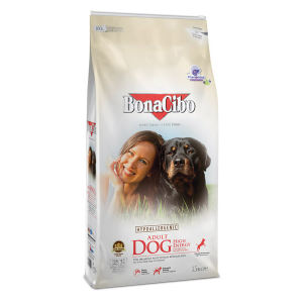 غذای خشک سگ بوناسیبو مدل High Energy وزن 15 کیلوگرم