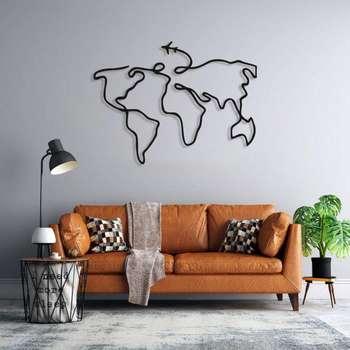 استیکر طرح نقشه جهان کد 007