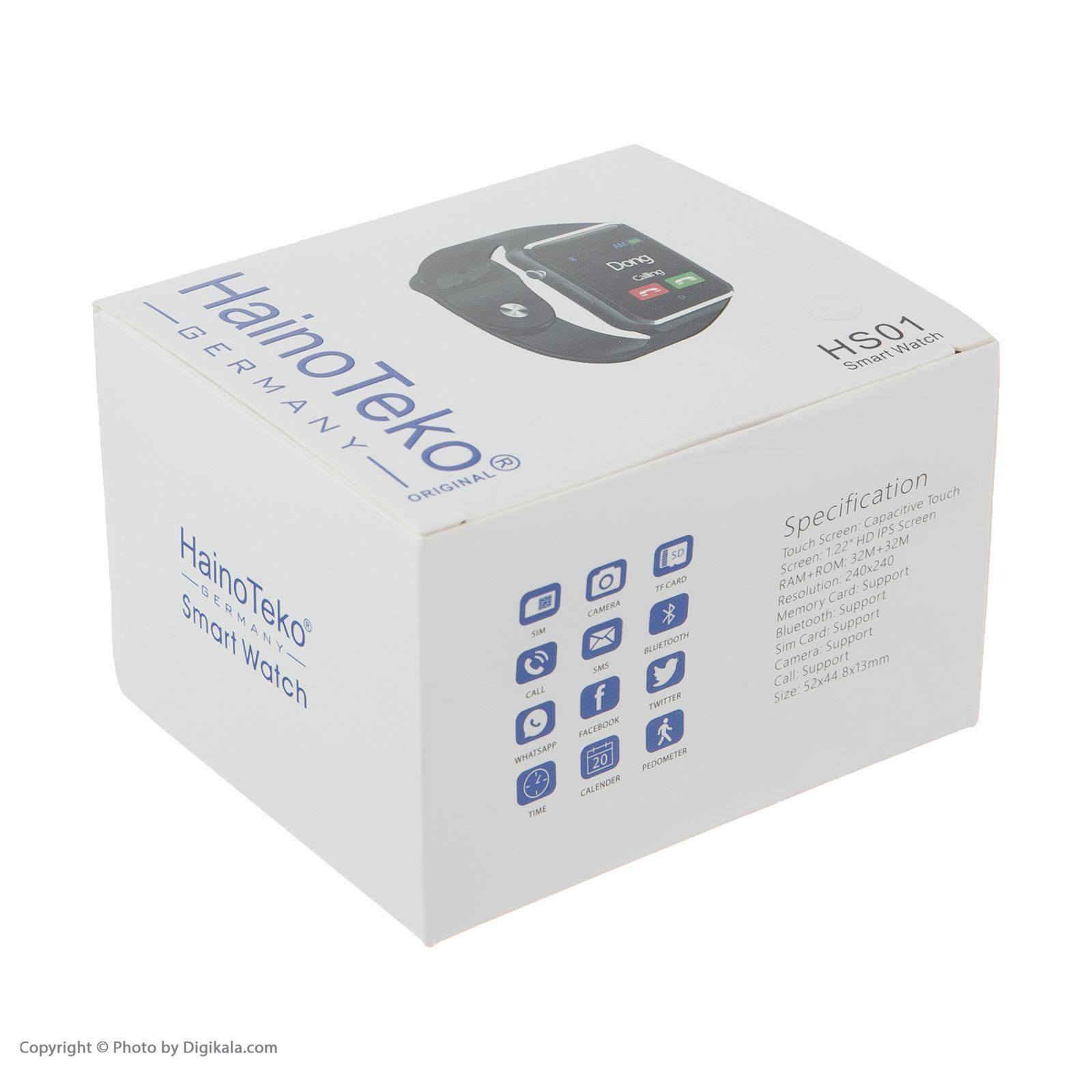 ساعت هوشمند هاینو تکو مدل HS01 -  - 6