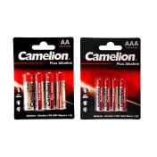 باتری قلم و نیم قلمی کملیون مدل Plus Alkaline محموعه 8 عددی