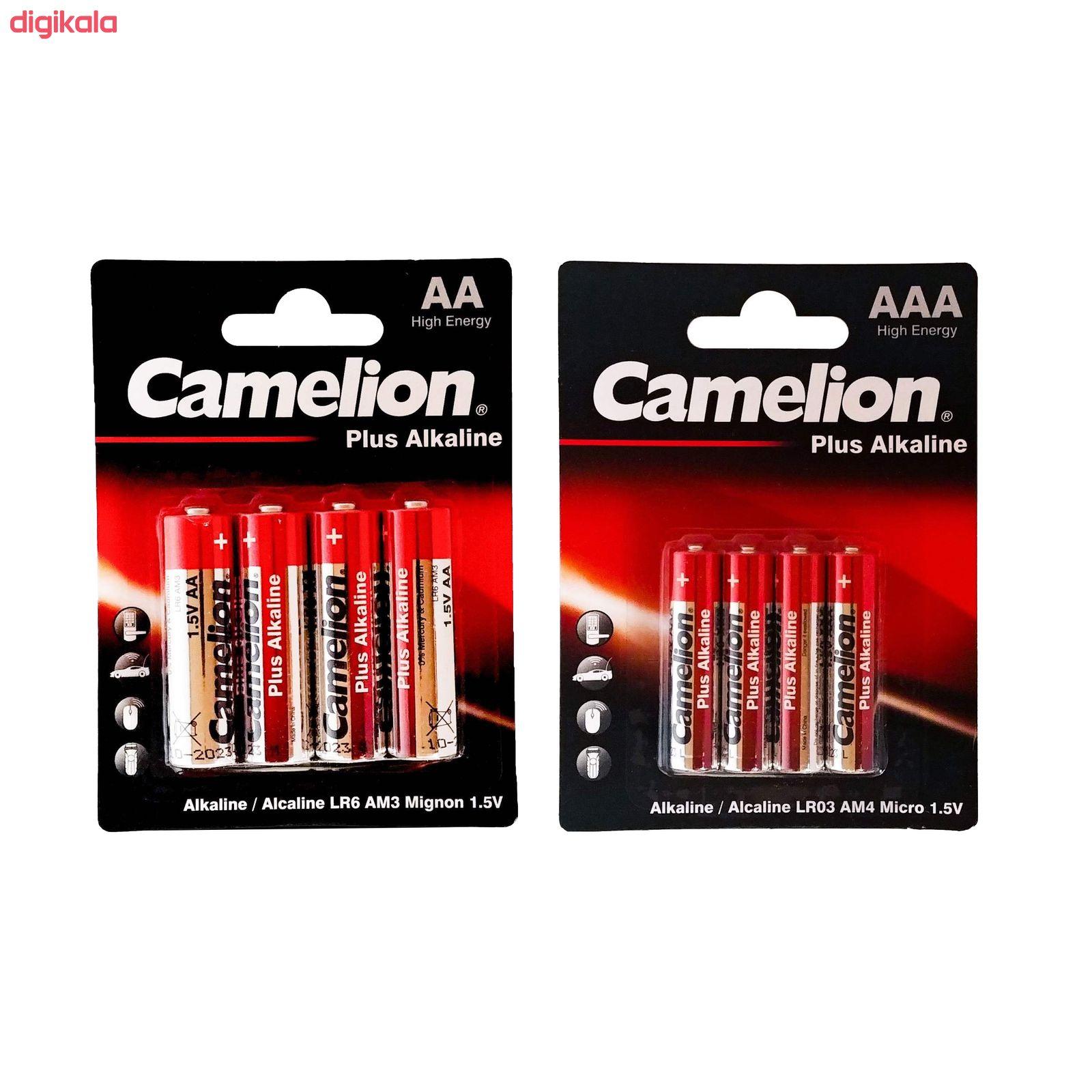 باتری قلم و نیم قلمی کملیون مدل Plus Alkaline محموعه 8 عددی main 1 1