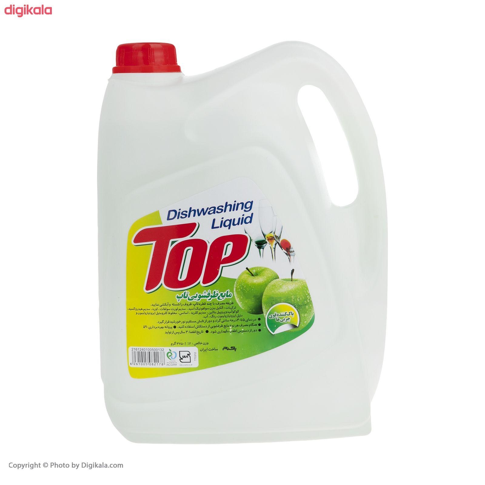 مایع ظرفشویی تاپ مدل Apple مقدار 3.75 کیلوگرم main 1 1