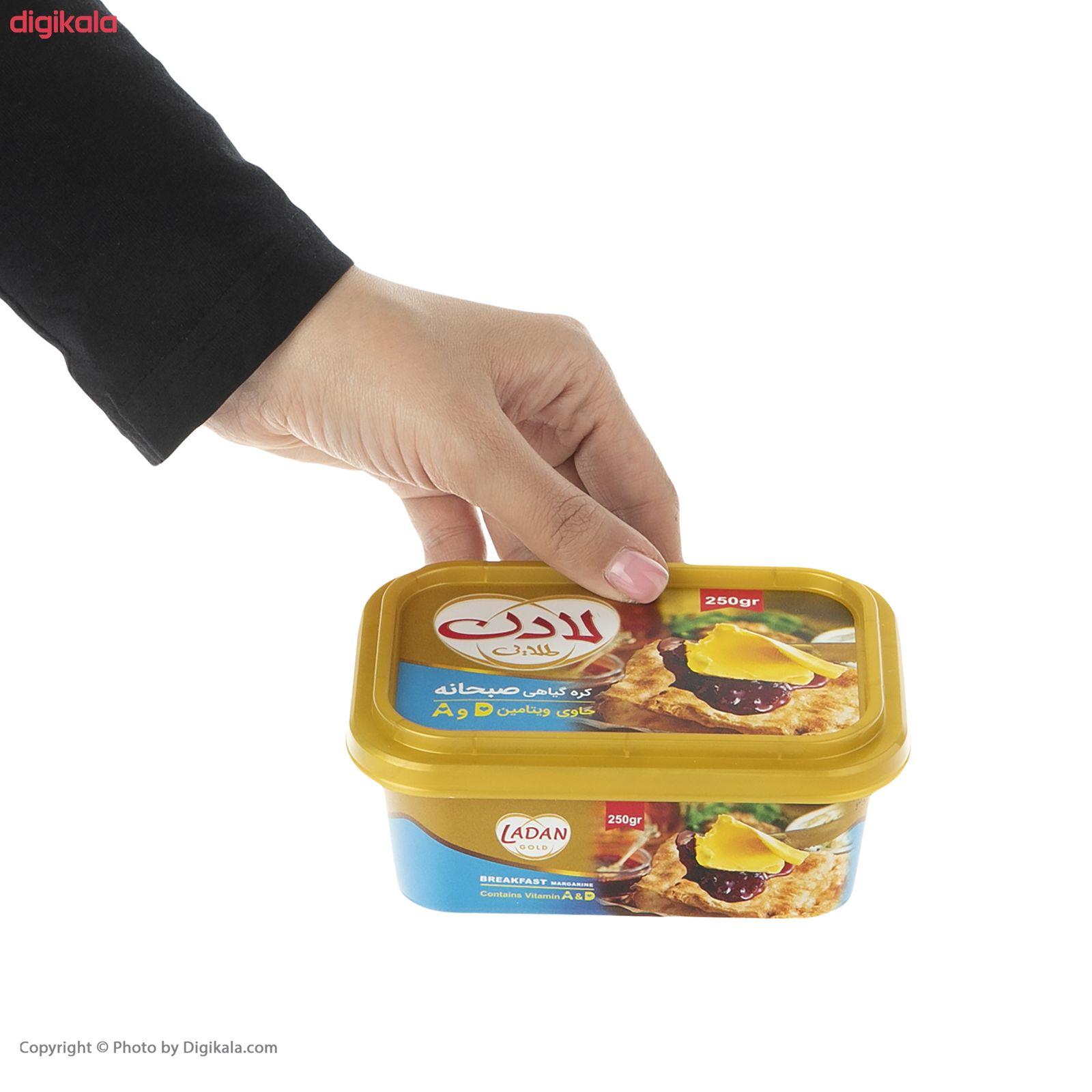 کره گیاهی صبحانه لادن - 250 گرم  main 1 2