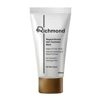 ماسک مو ریچموند مدل پروتئینه و ترمیم کننده حجم 150 میلی لیتر